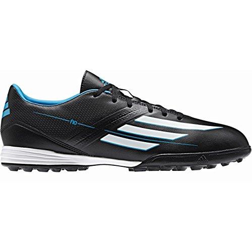 Adidas Fußballschuhe F10 TRX TF Herren black-running white-solar blue (F32714)