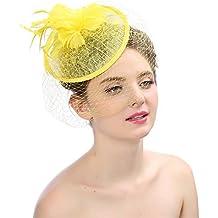 Sombrero de fiesta de té de cóctel de flores 8396d8a9325e
