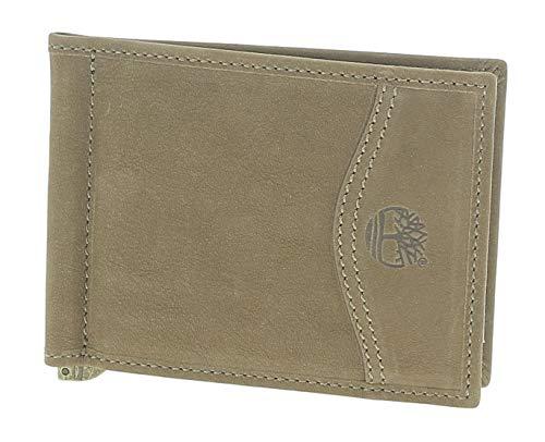 Timberland Clip Wallet Portafogli Uomo Marrone