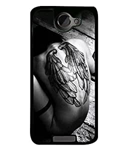 Fuson Designer Back Case Cover for HTC One X :: HTC One X+ :: HTC One X Plus :: HTC One XT (live your life to the fullest everyday text)