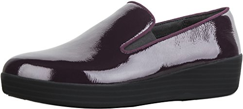 FitFlop Damen Superskate Pumps, Schwarz, One Size Purple