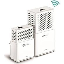 TP-Link TL-WPA7510KIT - Extensor de red WiFi Gigabit Powerline (1000Mbps Powerline, Doble Banda AC750Mbps Wi-Fi 802.11ac, Sincronización automática Wi-Fi, Plug y Play, WiFi move)