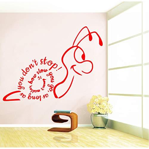 Schnecke Familie Wandaufkleber Wandbilder Dekoration Wohnzimmer Wandaufkleber Schlafzimmer Dekoration Tapete 43 Cm X 32 Cm