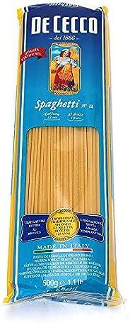 De Cecco 10x Spaghetti No. 12 Italian Pasta 500g