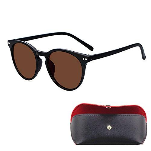 Kurzsichtige Gläser getönt braun polarisierte Cat Eye Sonnenbrille Fashion Rahmen kurzsichtig Brillen -0.50zu -6.00
