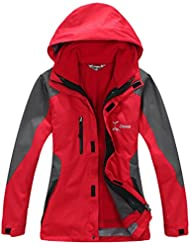 Outdoor jacken 3 in 1 damen