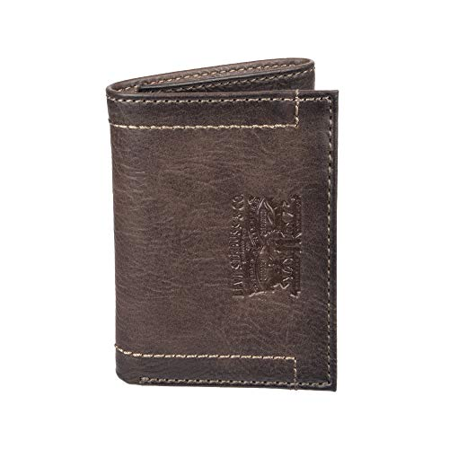 Levi's Men's Trifold Wallet - Sleek and Slim Includes