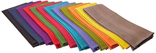 baumwolle-zum-basteln-mehrfarbig-12-stuck-16-x-28-rein-schones-100-baumwolle-waffelmuster-saugfahige