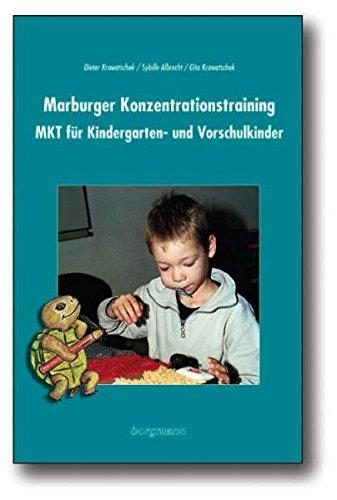 Buchseite und Rezensionen zu 'Marburger Konzentrationstraining' von Dieter Krowatschek