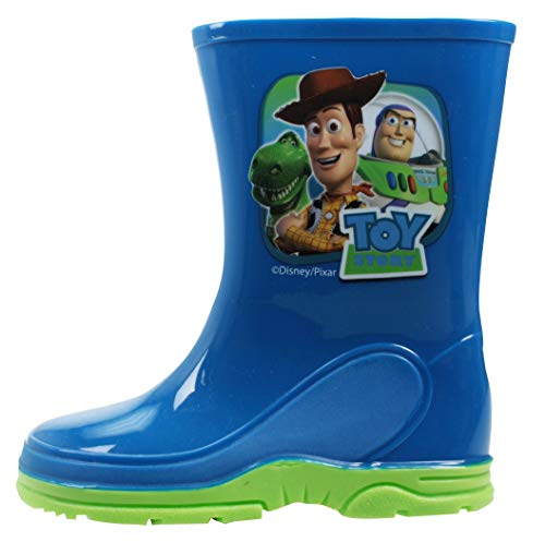 Toy Story Wellingtons Boys Woody & Buzz Design Rubber Or Synthetic UK Sizes 6-12