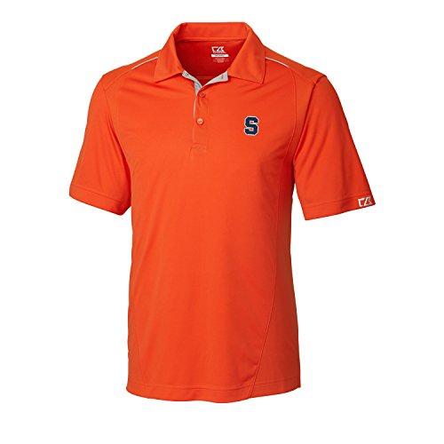 Cutter & Buck NCAA Herren FOSS Hybrid Poloshirt, Herren, NCAA Men's CB Dry Tec FOSS Hybrid Polo, College Orange, X-Large