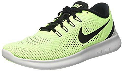 Nike Free Rn Scarpe da Ginnastica Grün (Ghost Green/black/blue Moon/pure Platinum)