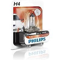 Philips 12454RAB1 Rally - Bombilla para faros delanteros (H4, 1 unidad)