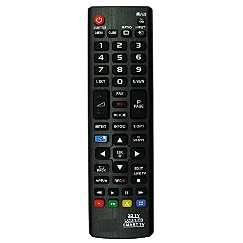 LipiWorld LED LCD HDTV 3D TV Smart TV Universal Remote Control Compatible For LG 3D Smart LED/LCD  available at amazon for Rs.299
