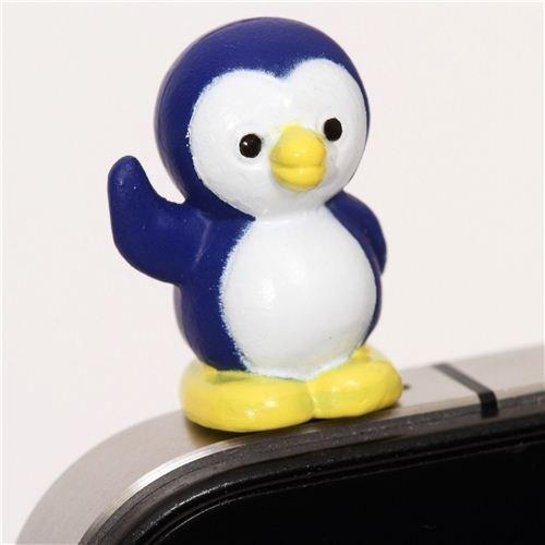 süßer Pinguin Handy Stöpsel Kopfhörer Stecker Schmuck