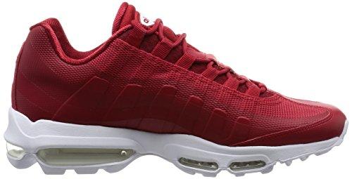 Nike Air Max 95Ultra Essential Sneaker Scarpe per Uomo Rot (Gym Red/White)