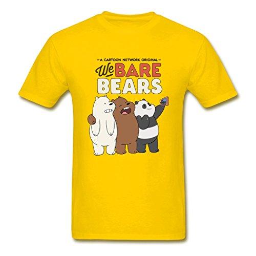 JONATHAN PAUL Herren T-Shirt Gr. XL, gelb