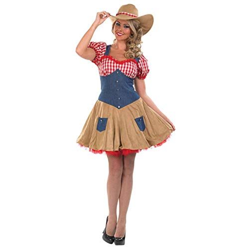 Fun Shack Damen Costume Kostüm, Cowgirl, Größe S (Für Wild Damen Outfits West)
