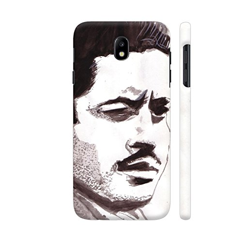 Colorpur Samsung J7 Pro Cover - Guru Dutt 2 Printed Back Case  available at amazon for Rs.599