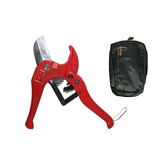 DigitalCraft 42mmPipecut Pvc Pipe Cutter 42Mm Efficiently Cuts Pvc and Rubber Hoses High Quality Cutter + Free Pocket Bag