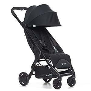 Ergobaby Metro Lightweight Buggy Stroller Pushchair with Sun-Shade Canopy One Hand Foldable, 6 Months to 18 kg Toddler (Black)   6