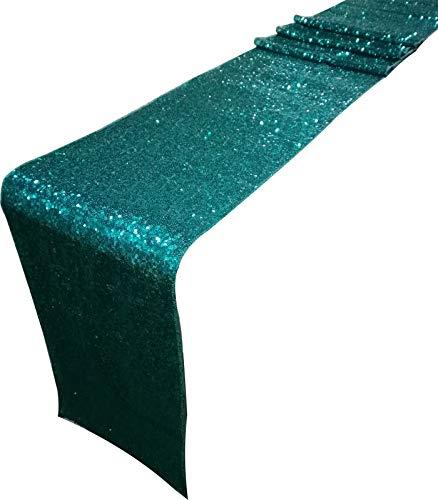 eagreen Glitzer Pailletten-Tischläufer 30,5 x 274,3 cm Hochzeit Bankett Party Weihnachten Weihnachten Dekoration (Farbe wird abweichen aufgrund unterschiedlicher Monitoreinstellung) ()