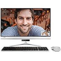 """Lenovo Ideacentre AIO 520S-23IKU - Ordenador sobremesa 23"""" Full HD (Intel Core i5-7200U, 8GB RAM, 1TB de HDD, Intel HD Graphics 620, Windows 10 Home) Plata - Teclado QWERTY Español + Ratón"""