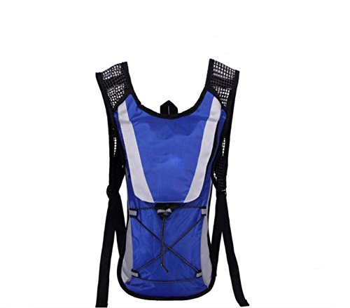 Spalle Bicicletta All'aperto 2L Hydration Pack,RoseRed Blue