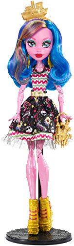 Monster High Mattel FBP35 Gruselschiff Gooliope Jellington Puppe (High Monster Kleid)