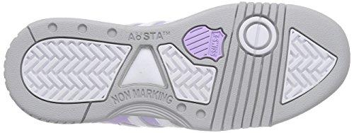 K-Swiss  GSTAAD~PASTEL LILAC/GULL GRAY/WHITE~M, Sneakers basses femmes Violet - Violett (Lila Pastel 597)
