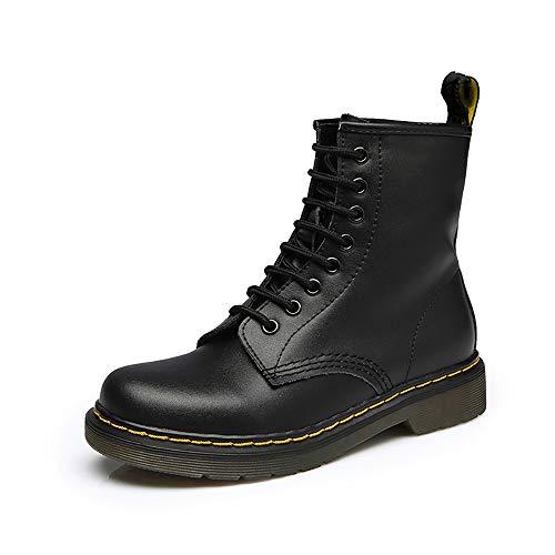 Botas Militares Unisex Adulto Moda Invierno Zapatos Boots Botines Botas de Nieve clásicos Calientes...