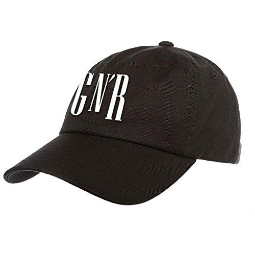 Guns N Roses GNR Logo Flex Fit Hut Cap (Fit Flex Hut)