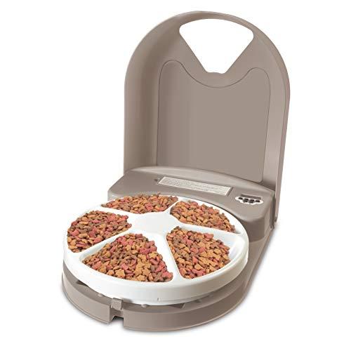 PetSafe Futterreservoir für 5 Mahlzeiten mit Zeitschaltuhr
