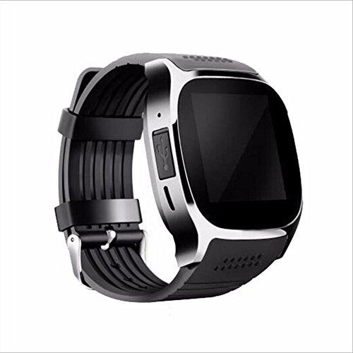 Human T8M Pulsuhr Smart Watch MTK2502 Blutdruckmessgerät Bluetooth 4.0 Smart Watch,Black