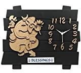 SD Enterprises 17 Designer Wall Clock /Watch (Multicolor)
