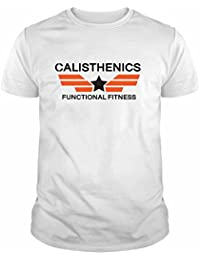 IDEAMAGLIETTA CAL0001U Maglietta Calisthenics Palestra Fitness Crossfit Idea Regalo T-Shirt Body Build