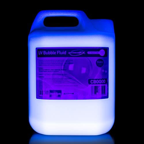 UV Bubble Fluid (1x 5L) UK KOSTENLOSER VERSAND UPS-Bubble Machine Liquid Lösung