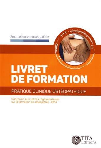 Livret de formation : Pratique clinique ostéopathique