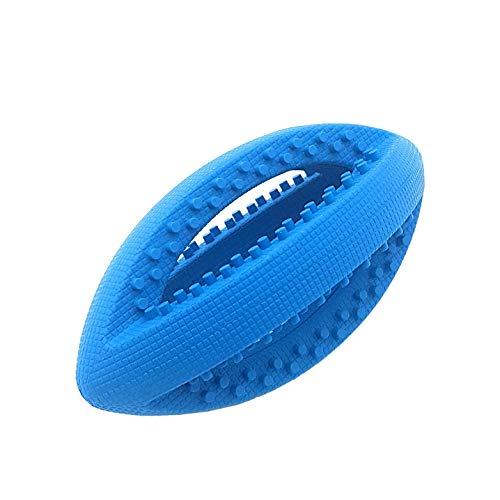 Offiziell Lizenziertes Rugby American Football Ball Blau Dick Hund Haustier Spielzeug