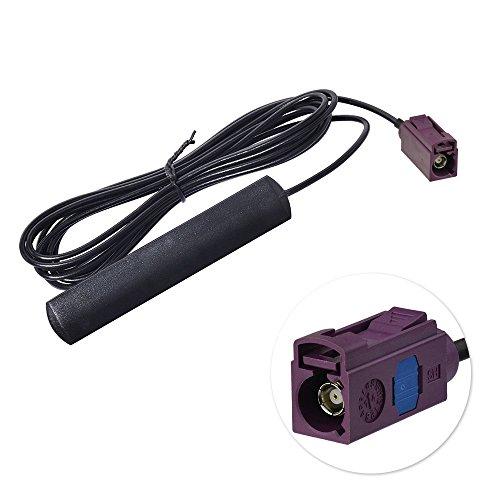 Eightwood 4G LTE Antenne Fakra Adapter Auto Antenne 2dBi 824-960MHz 1710-1990MHz Fakra D Buchse Fakra Verlängerung mit 3m 9.8ft für Autotelematik 4G LTE Handy-Booster-System MEHRWEG
