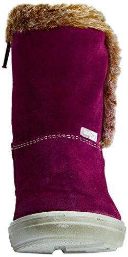 Ricosta  Usky, Bottines avec doublure intérieure chaude filles Rose - Pink (merlot 362)