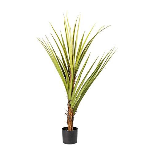 Homefinity Künstlicher Pandanus ca 155cm Schraubenbaum im Kunststofftopf Palme