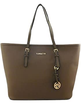 Tom & Eva 6288F TE-Jet Set Travel Damen Handtasche Camel