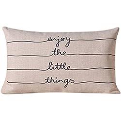 Funda de cojín de almohada Funda de hogar Sofa Decor
