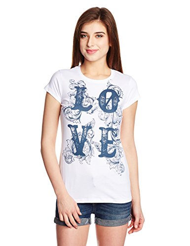 People Women's Body Blouse T-Shirt (P20401105134001_White_Small)  available at amazon for Rs.149