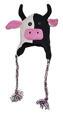 Bonnet/Chapeau Animal - Vache Adulte - Livraison gratuite