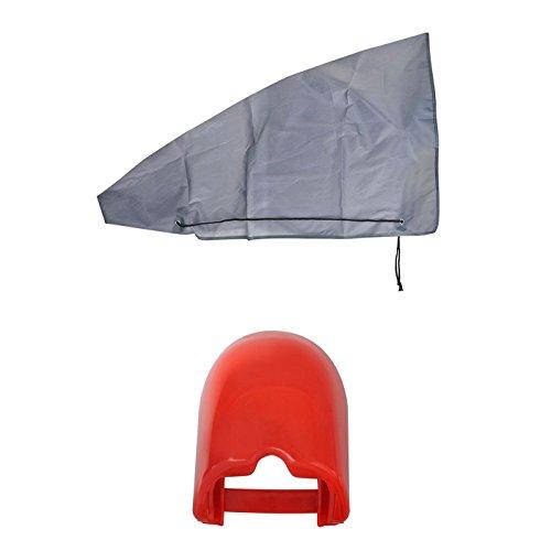 uferdamm 2er Set Soft-dock für Zugkugelkupplungen inkl. Deichselhaube / Abdeckung Anhängerkupplung Wohnwagen
