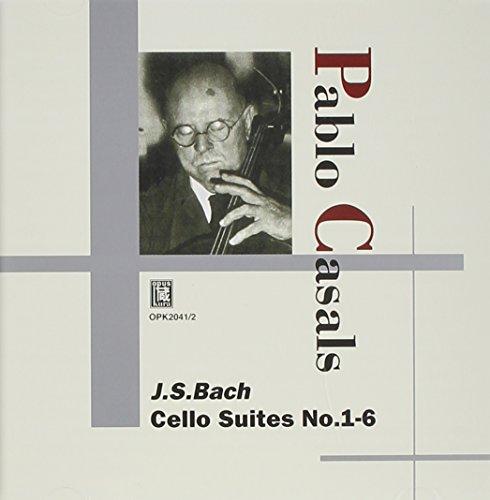 Cello-suiten Bach Casals (Bach:Cello Suites No.1-6)
