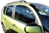 J&J AUTOMOTIVE | Deflecteurs d'air Déflecteurs de Vent Compatible avec Citroen C3 Picasso 2009-2016 4pcs