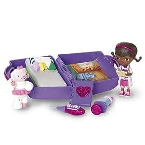 docteur la peluche mini clinic valise clinique et mini. Black Bedroom Furniture Sets. Home Design Ideas